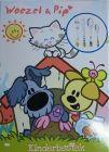 Woezel en Pip bestek in kleur
