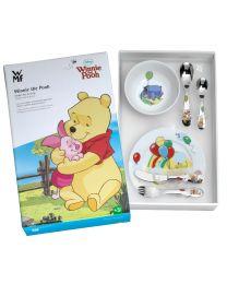 Kinder setje bestek en servies Winnie the Pooh