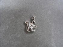 Eekhoorntje zilveren bedeltje