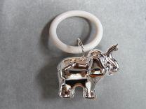 Rammelaar, olifant aan ring.