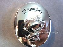 Charmmykitty verzilverd krul of tanden doosje