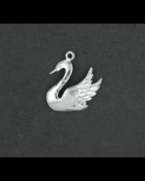 Zilveren Zwaan hanger